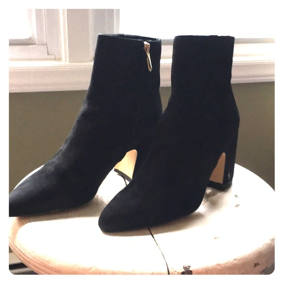"378fa3108ba1b6 Sam Edelman ""Hilty"" boot in black suede"